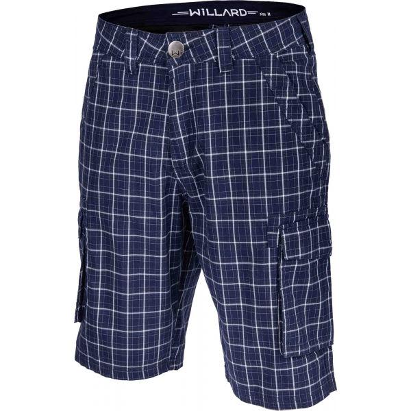 Willard RUDA modrá M - Pánské šortky