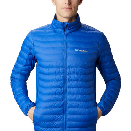 Pánska outdoorová bunda - Columbia POWDER PASS JACKET - 4