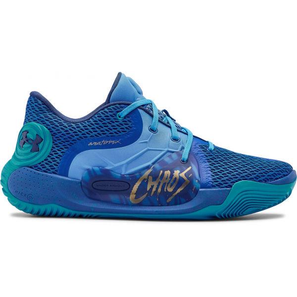 Under Armour SPAWN 2 modrá 13 - Pánská basketbalová obuv