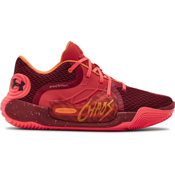 Under Armour SPAWN 2 červená 13 - Pánská basketbalová obuv