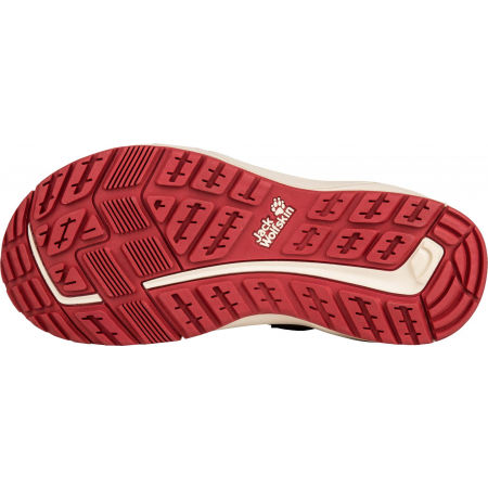 Dámske turistické sandále - Jack Wolfskin LAKEWOOD CRUISE SANDAL - 5