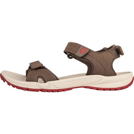 Dámske turistické sandále - Jack Wolfskin LAKEWOOD CRUISE SANDAL - 3