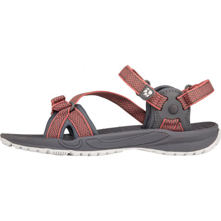 Women's hiking sandals - Jack Wolfskin LAKEWOOD RIDE SANDAL - 3