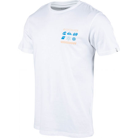 Pánske tričko - Quiksilver SLOW BURN SS - 2