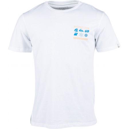 Pánske tričko - Quiksilver SLOW BURN SS - 1