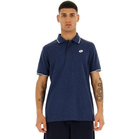 Мъжка поло тениска - Lotto POLO ELBA MEL PQ - 4