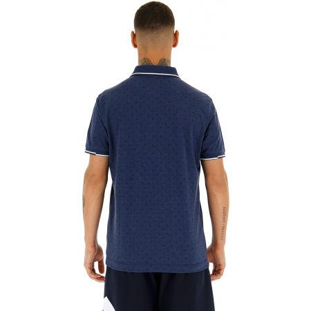 Мъжка поло тениска - Lotto POLO ELBA MEL PQ - 5