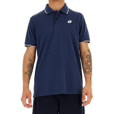 Мъжка поло тениска - Lotto POLO ELBA MEL PQ - 6