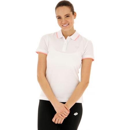 Дамска поло тениска - Lotto POLO CLASSICA W STC PQ - 4