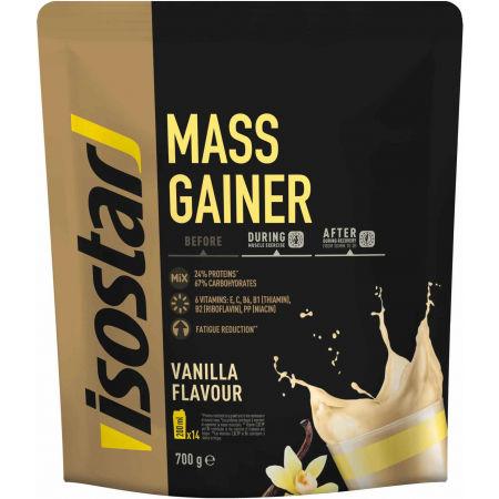 Isostar MASS GAINER VAN VANILKA 700G - Prášok na prípravu výkonného fitness nápoja