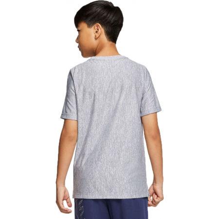 Boys' training T-shirt - Nike CORE SS PERF TOP HTHR B - 2