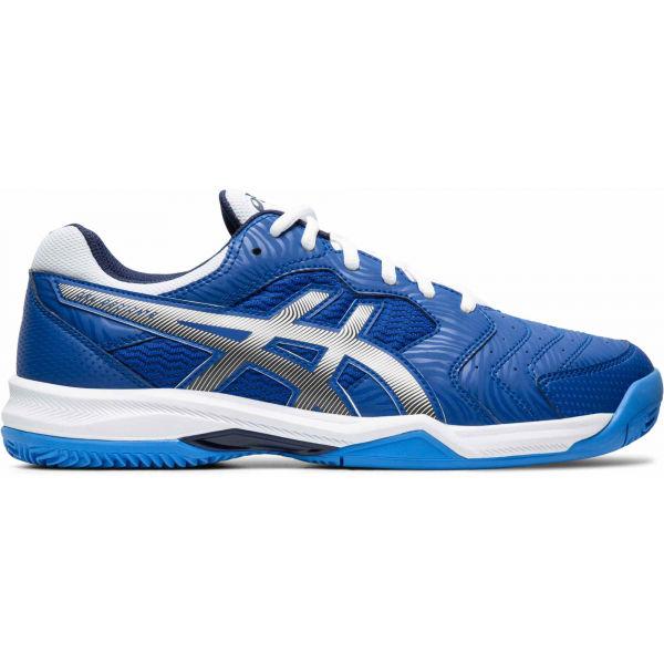 Asics GEL-DEDICATE 6 CLAY modrá 11.5 - Pánská tenisová bota