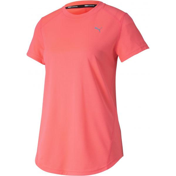 Puma IGNITE SS TEE oranžová L - Sportovní triko