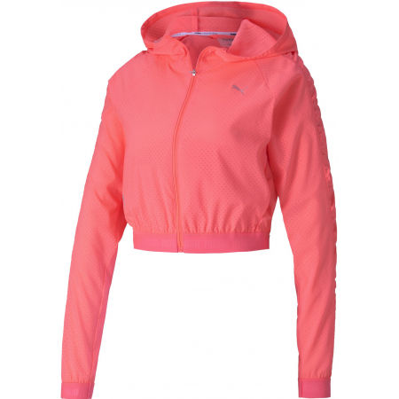 Women's sports jacket - Puma BE BOLD WOVEN JACKET - 1