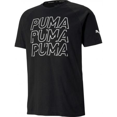 Мъжка тениска - Puma MODERN SPORTS LOGO TEE - 1
