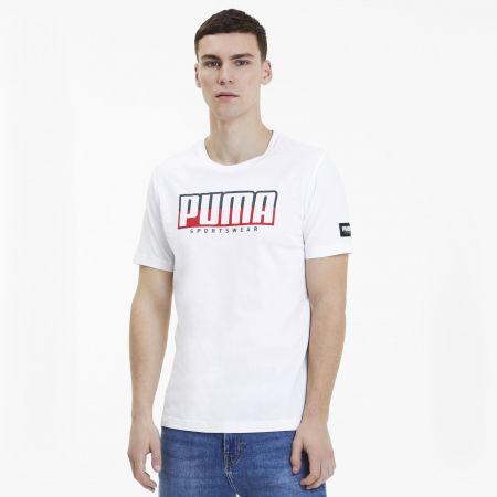 Мъжка спортна тениска - Puma ATHLETIC TEE BIG LOGO - 3
