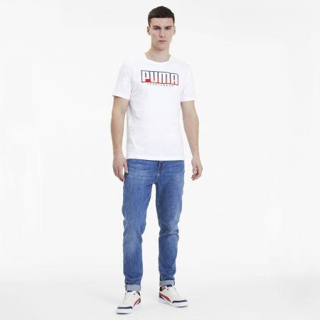 Мъжка спортна тениска - Puma ATHLETIC TEE BIG LOGO - 5