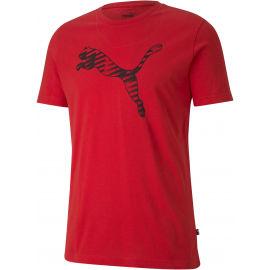 Puma CAT BRAND LOGO TEE - Pánské sportovní triko
