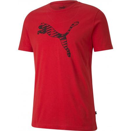 Puma CAT BRAND LOGO TEE - Pánske športové tričko
