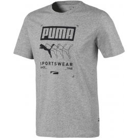 Puma BOX PUMA TEE - Koszulka sportowa męska