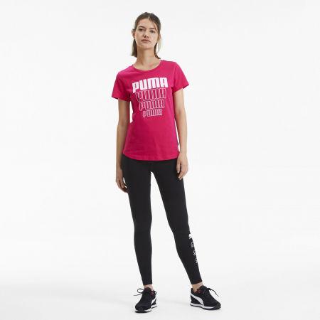 Tricou sport de damă - Puma REBEL GRAPHIC TEE - 5