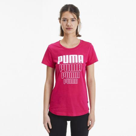 Tricou sport de damă - Puma REBEL GRAPHIC TEE - 3