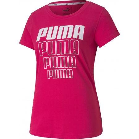 Puma REBEL GRAPHIC TEE - Dámské sportovní triko