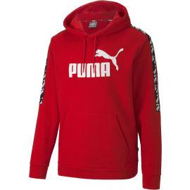 Puma APLIFIED HOODED TL - Pánska športová mikina