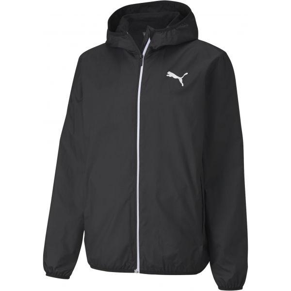 Puma ESSENTIAL SOLID WINDBREAKER černá XXL - Pánská sportovní větrovka