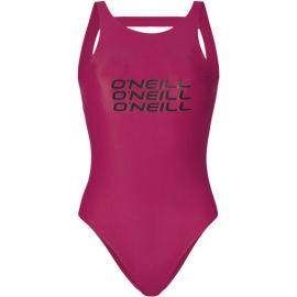 O'Neill PW NOOS LOGO BATHINGSUIT - Dámske jednodielne plavky