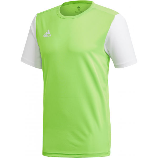 adidas ESTRO 19 JSY JNR světle zelená 152 - Dětský fotbalový dres