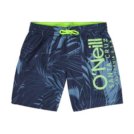 O'Neill PB CALI FLORAL SHORTS - Chlapčenské šortky do vody