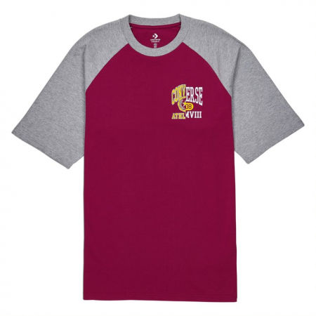 Tricou pentru bărbați - Converse ICON REMIX RAGLAN TEE