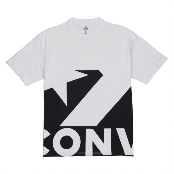 Converse STAR CHEVRON ICON REMIX TEE černá S - Pánské tričko