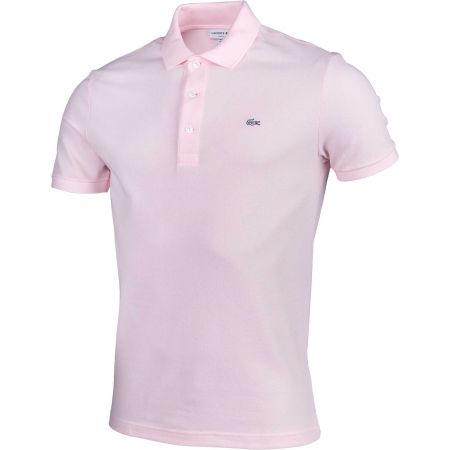 Мъжка  тениска с яка - Lacoste SLIM SHORT SLEEVE POLO - 2