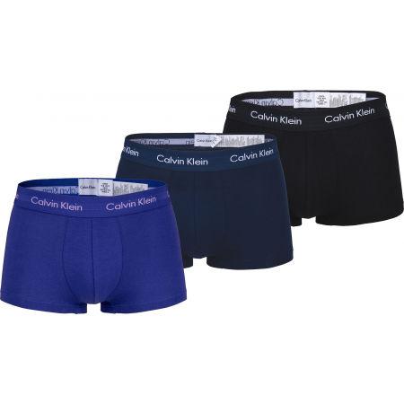 Pánske boxerky - Calvin Klein 3 PACK LO RISE TRUNK - 1