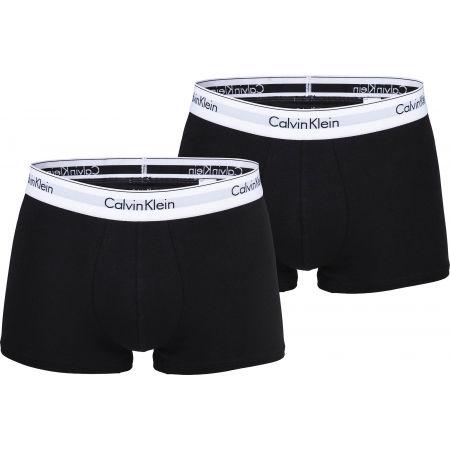 Pánske boxerky - Calvin Klein 2P TRUNK - 1