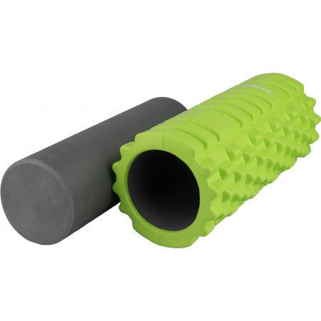 Fitness masážny valec 2v1 - Fitforce GROLL C1+1 - 2