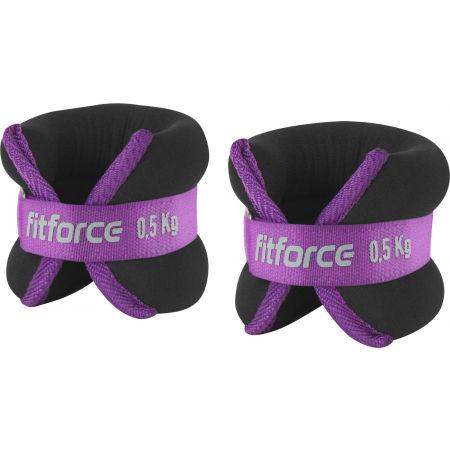 Fitforce ANKLE 0,5 KG - Boka súly