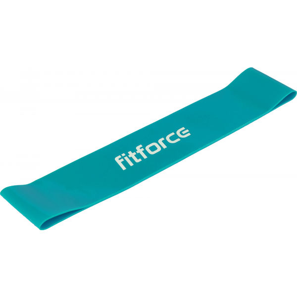 Fitforce EXEBAND LOOP SOFT modrá ns - Posilovací guma