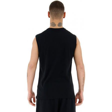 Pánske tričko bez rukávov - Lotto DINAMICO II TEE SL MEL CO - 5