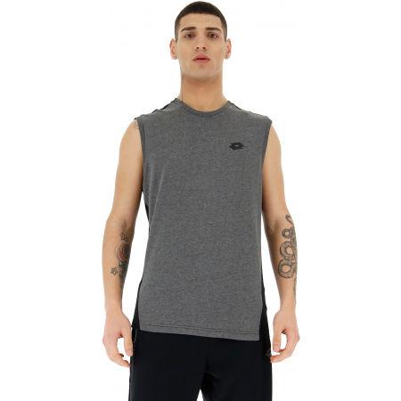 Pánske tričko bez rukávov - Lotto DINAMICO II TEE SL MEL CO - 4