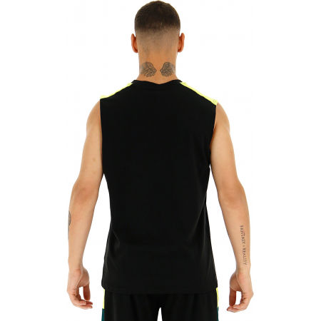 Koszulka bez rękawów męska - Lotto LOGO III TEE SL JS - 5