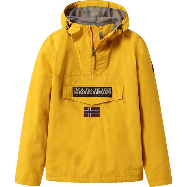 Napapijri RAINFOREST M SUM 1 žlutá S - Pánská bunda