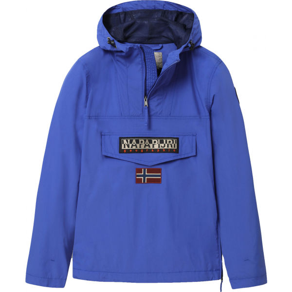 Napapijri RAINFOREST M SUM 1 modrá S - Pánská bunda