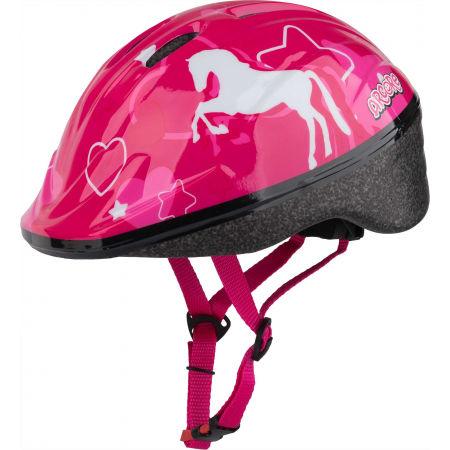 Arcore WAPI - Kask rowerowy dziewczęcy