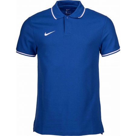Мъжка поло тениска - Nike POLO TM CLUB19 SS M - 1