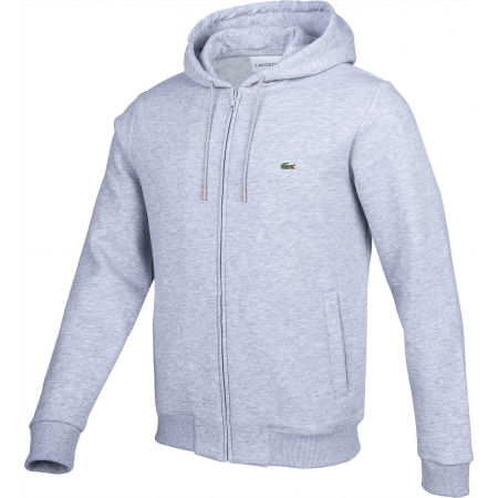 Herren Sweatshirt - Lacoste FULL ZIP WITH HOODIE - 2