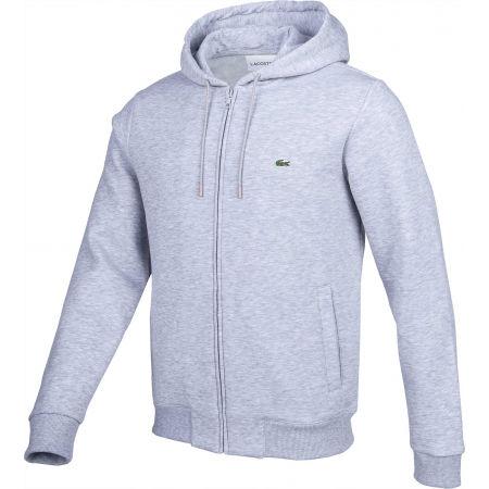 Men's sweatshirt - Lacoste FULL ZIP WITH HOODIE - 2