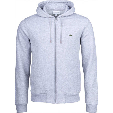 Herren Sweatshirt - Lacoste FULL ZIP WITH HOODIE - 1